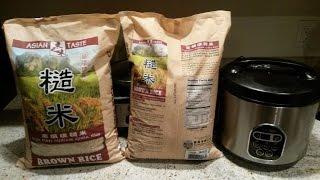 Asian Taste High Fiber Medium Grain Brown Rice Review