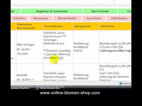 blumen shop online