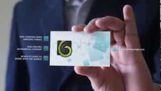 After Effects Template | Business Card V1