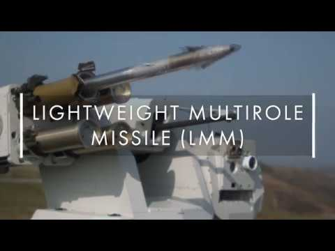 Thales proves its Lightweight Multirole Missile's precision strike capability