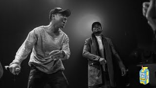 Taylor Bennett & Chance The Rapper - Broad Shoulders (Live Performance)