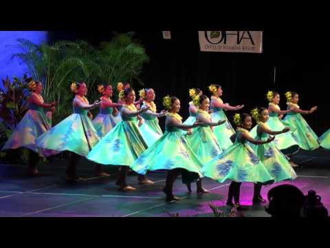 2013 QueenLiliuokalani keiki hula competition Kamuela  Auana