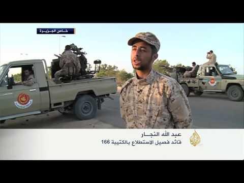 معارك شرسة بين الكتيبة 166 وتنظيم الدولة في سرت