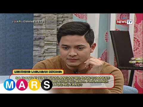 Mars Sharing Group: Alden Richards, minsan nang sumakay sa ambulansya para 'di makuyog ng fans?