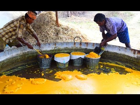 Jaggery Production Process | Traditional Jaggery Making Process |
