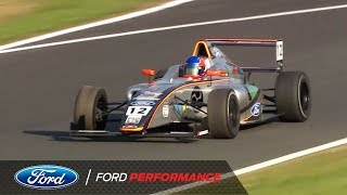 Oulton Park Highlights | F4 British Championship | Ford Performance