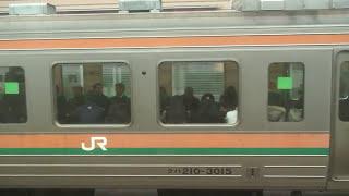 Repeat youtube video 湘南新宿ラインvs高崎線バトル #2_2010/02/10