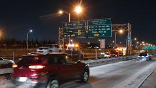 Un accident force la fermeture de l'autoroute 25 - Montréal / 10-12-18