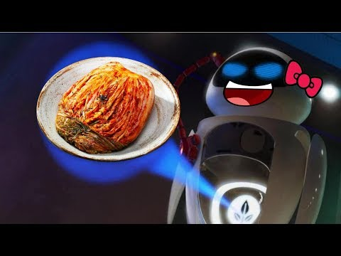Wall-E Craziness 2 - Eve Delivers Kimchi !