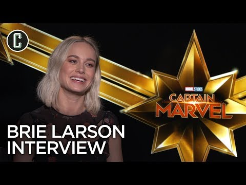 Captain Marvel: Brie Larson Interview