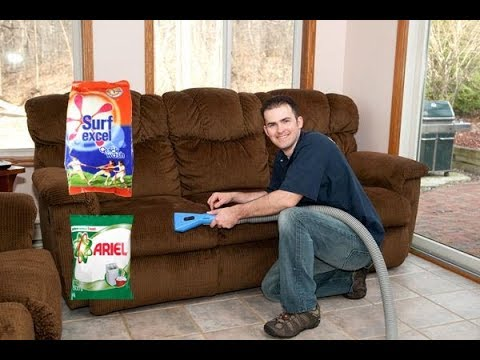 How to Clean Sofa | Cleaning Sofa Fabric
