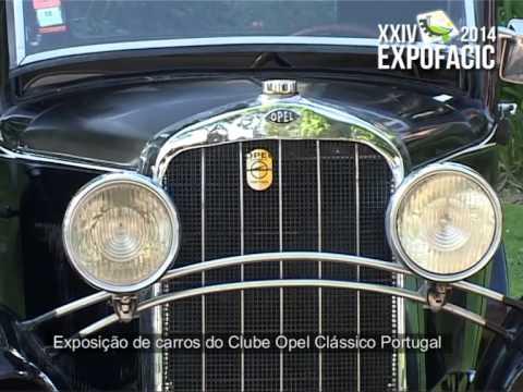 3dc5a890ba2 Exposição de carros do Clube Opel Classico - EXPOFACIC 2014 - YouTube