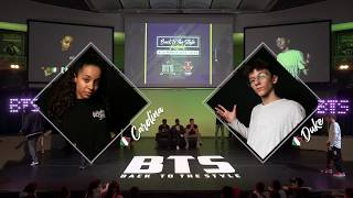 BTS 2019 \\ Mix Style Junior 1/2 Final • Carolina (Ita) vs Emy (Ita)