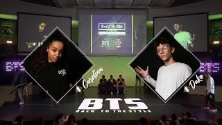 BTS 2019 \\ Mix Style Junior 1/2 Final • Carolina (Ita) vs Emy (Ita)