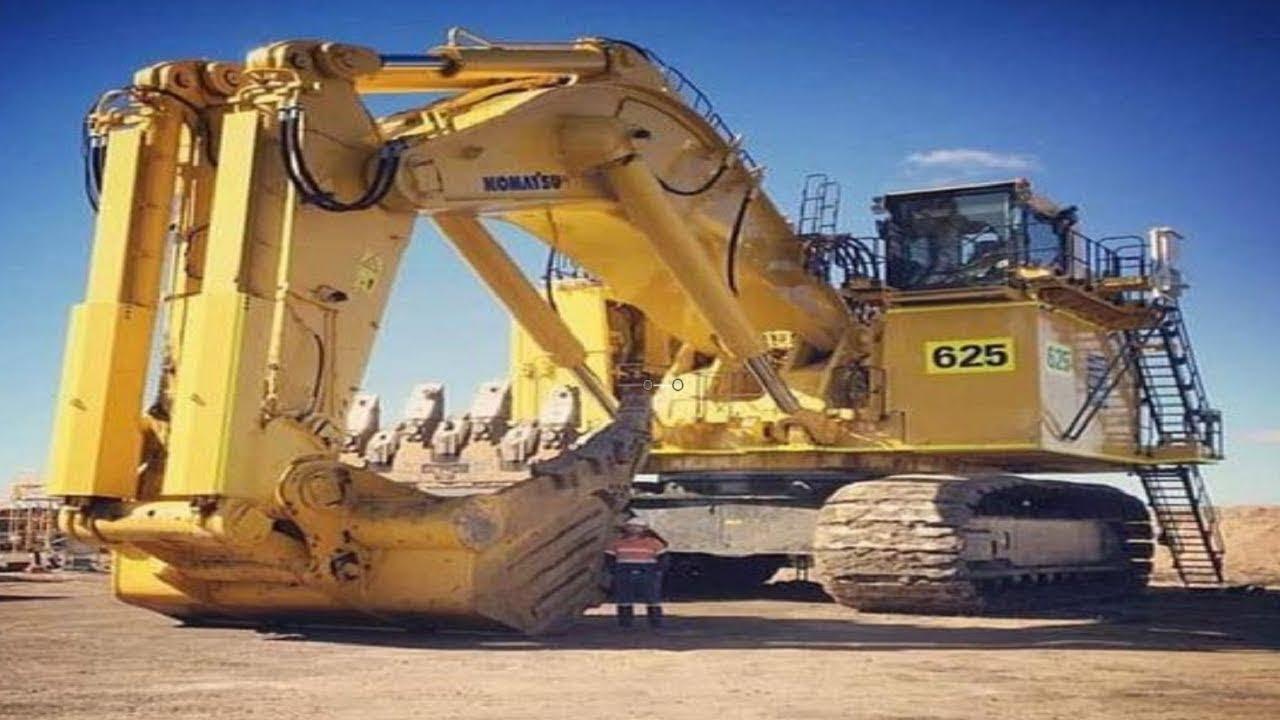 World Dangerous Biggest Excavator Loading Truck Machines Powerful Heavy Large Machine Fastest Skill Youtube