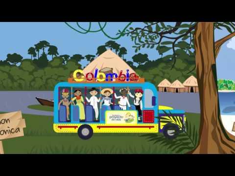 Colombia contada por los niños y para los niños