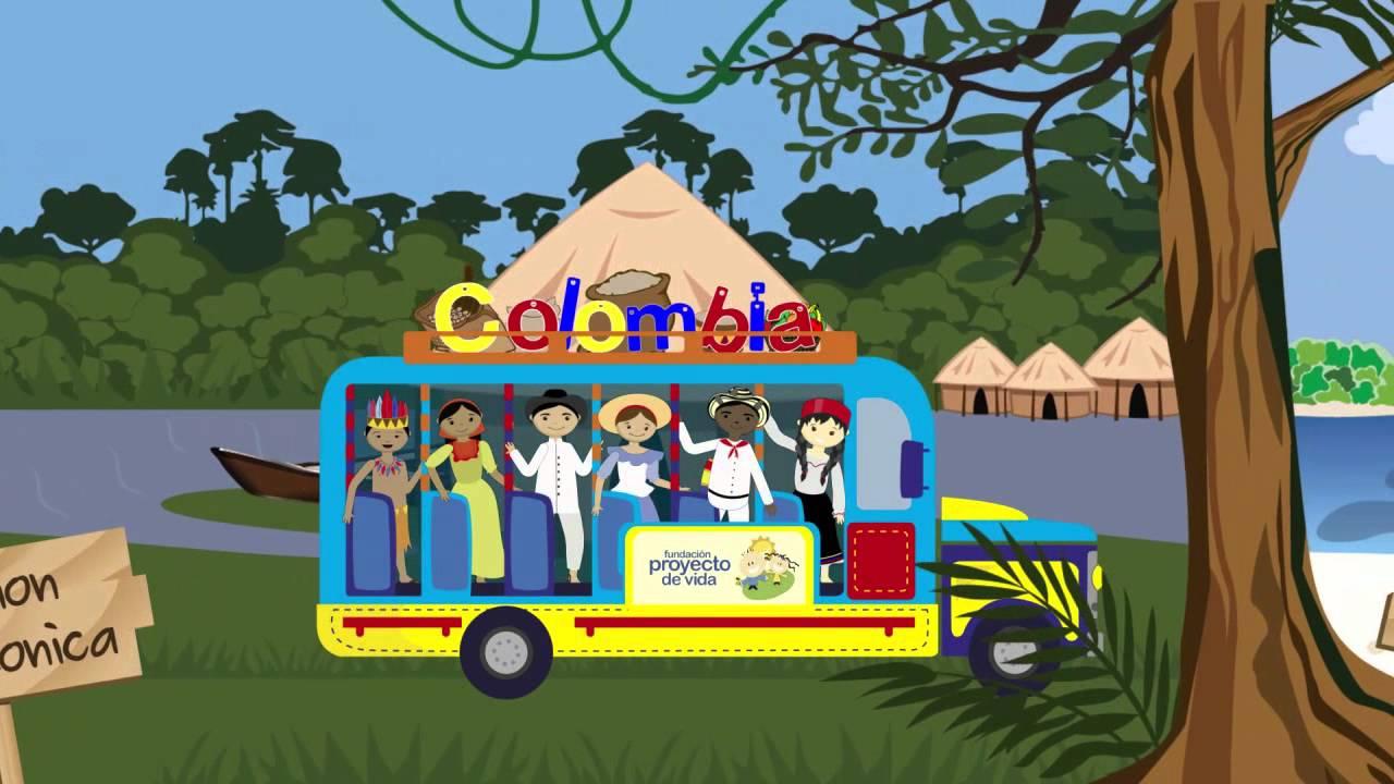 Chivo Dibujo Animado: Colombia Contada Por Los Niños Y Para Los Niños