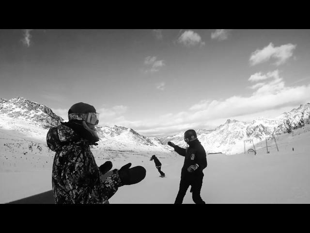 Shred Unit Girls Snow Card Tirol takeover
