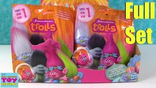 Trolls Movie Blind Bag Figures Toy Review Dreamworks | PSToyReviews