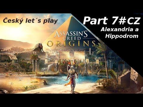 CZ - Assassin´s Creed - Origins Alexandria a Hippodrom (Livestream)