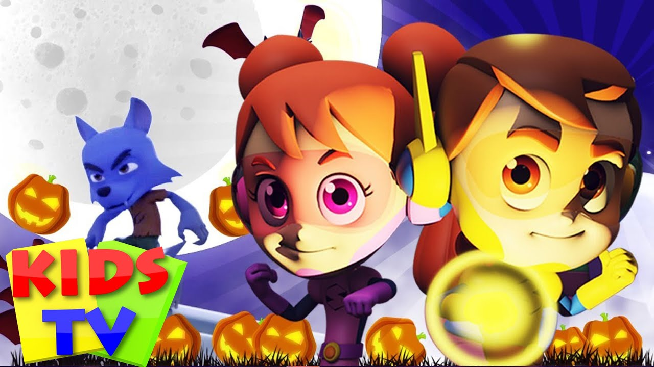 Hello its Halloween | Super Supremes Cartoons | Halloween Songs For Kids