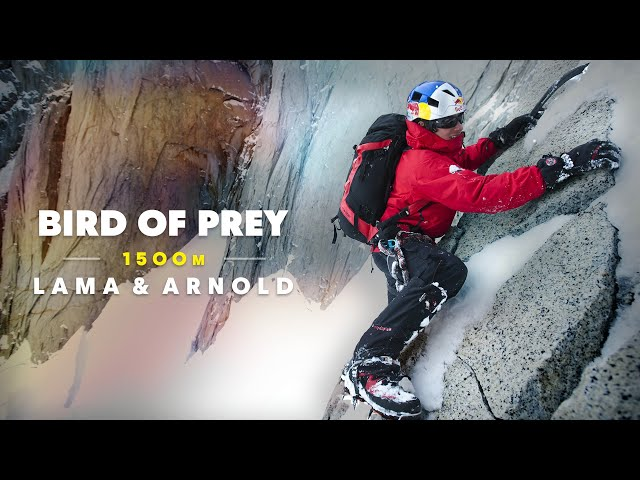 David Lama scales one of the toughest Alpine climbing routes