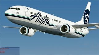 [FSX] Alaska Airlines 737-900 NGX to Palm Springs