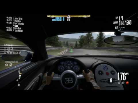 Need for Speed: Shift - Bugatti Veyron Invitational Event at Nordschleife (Nurburgring)