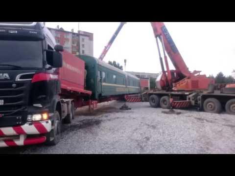 Evgenii Kniazev живая трансляция 2016-09-09 Перевозка железнодорожных вагонов г.Хабаровск