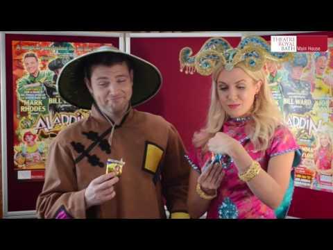 ALADDIN - Mark Rhodes and Gemma Naylor