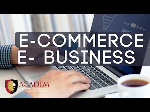 ¿Qué es E-commerce y E-business?