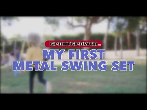 My First Metal Swingset by Sportspower