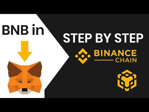 How To Setup Binance Smart Chain Wallet U0026 Metamask  -  Step By Step Tutorial