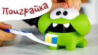 🍬Ам Ням🍭 и Мистер Зубастик - лечим зубы - играем в пластилин Плей до, Play Doh- Поиграйка с Катей