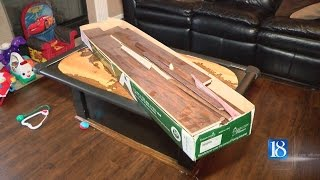 Laminate flooring tested above the EPA guideline for formaldehyde