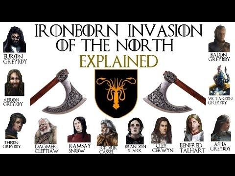 The Ironborn Invasion Of The North