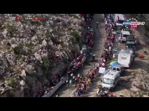 La Vuelta 2015 - stage 9 - Dumoulin wins in beautiful fashion