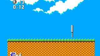 [TAS] Sonic 1 (SMS) - Bridge 2 but there's no autoscroll (hack)