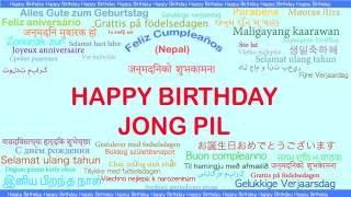 JongPil   Languages Idiomas - Happy Birthday