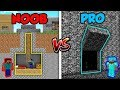 Minecraft NOOB vs. PRO: SECRET HOUSE! | AVM Shorts Animation