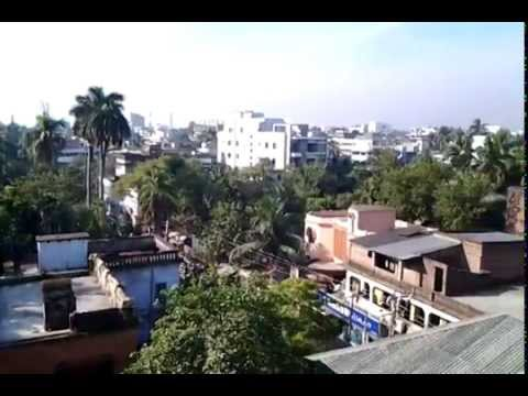 travel through bangladesh: view from jalico hotel in khulna