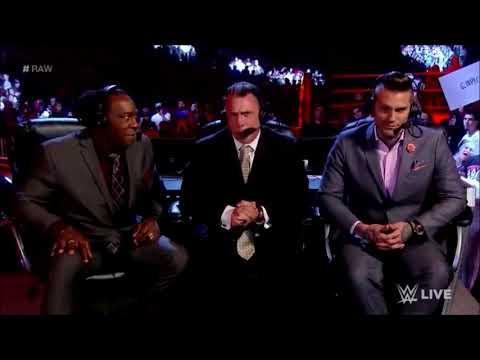 Booker T's Revenge- Raw 1/15/18.