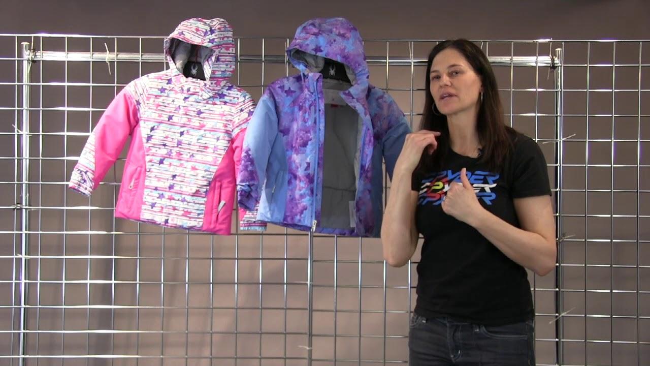 862b0e363207 Spyder Bitsy Girls Charm Jacket 2018-2019 - YouTube