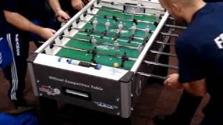 Coupe du Monde de babyfoot l'équipe de France joue sur Roberto Sport
