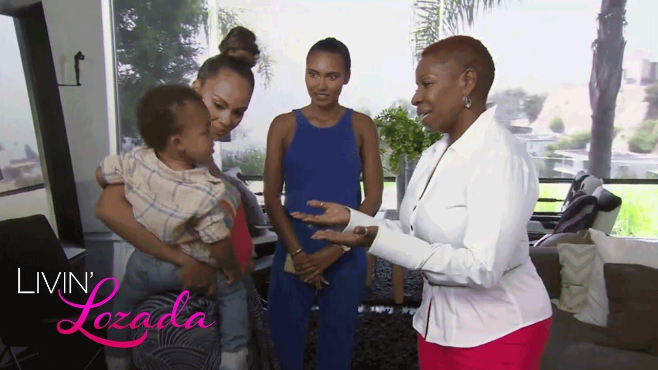 Iyanla Counsels Shaniece And Meets Baby Leo Livin Lozada Oprah