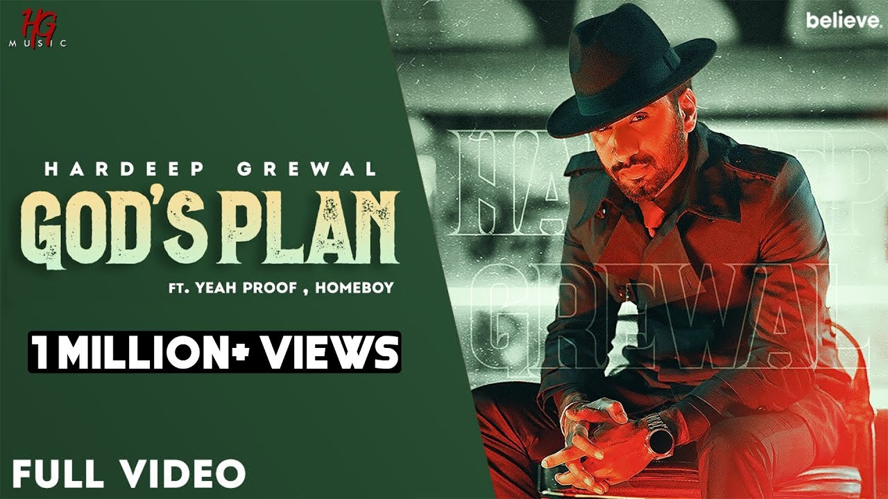 GOD'S PLAN LYRICS - Hardeep Grewal - Lyricsgoo.com