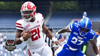 Louisiana Ragin Cajuns vs. George State Panthers | 2020 College Football Highlights