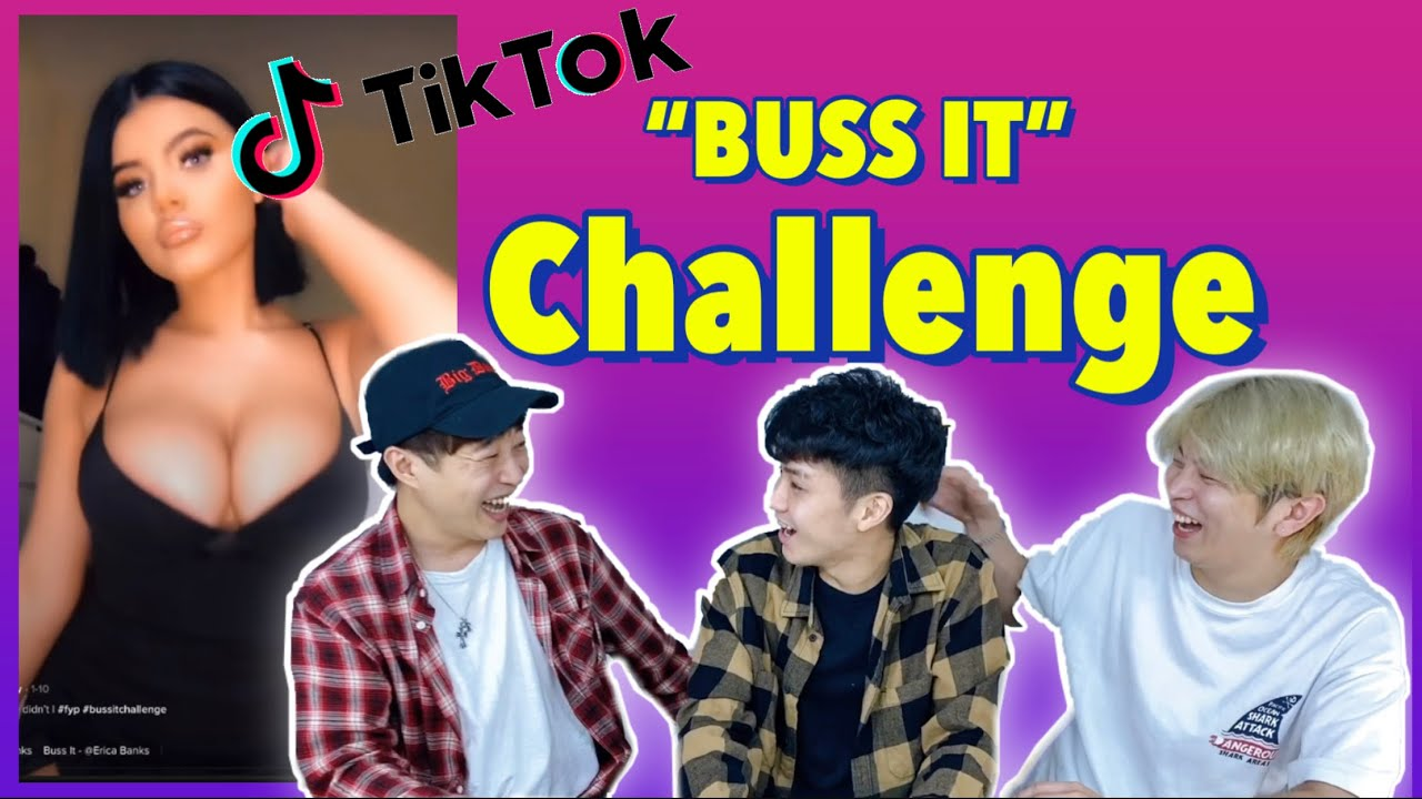 """Mga Koreans nag-react sa """"BUSS IT CHALLENGE"""" sa Tiktok"""