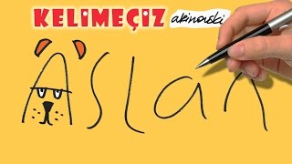 YAZARAK ASLAN ÇİZ ! wordtoon: leon (Turkish)