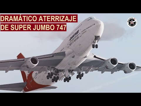 Aparatoso Aterrizaje de